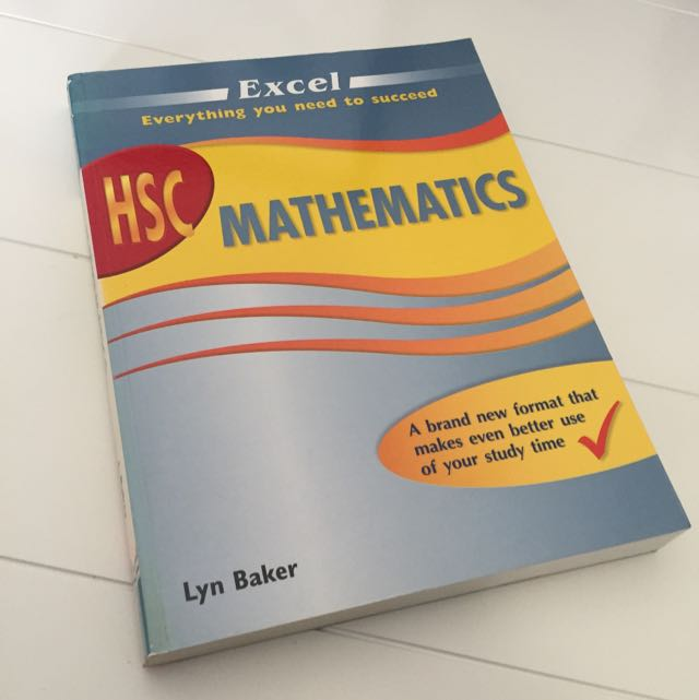 HSC Mathematics Excel Textbook