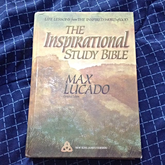 Inspirational Christian Study Bible By Max lucado