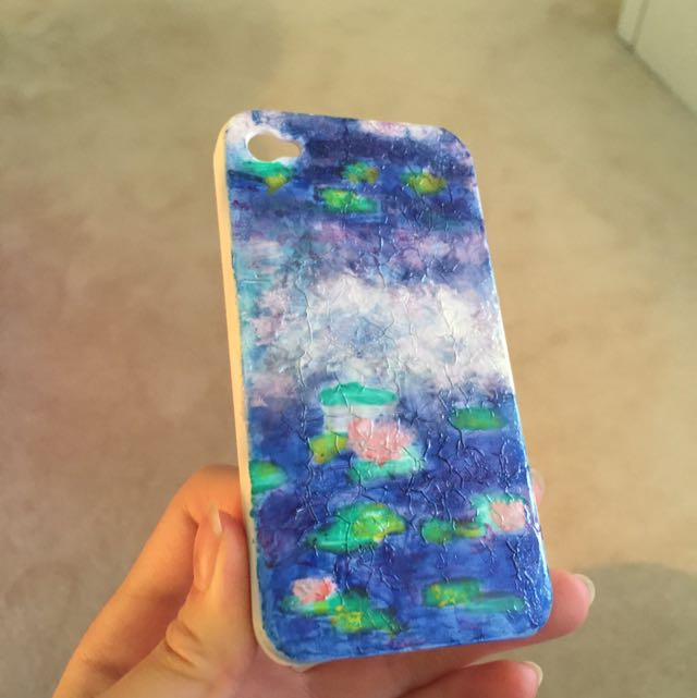 iPhone 4 Handmade Monet Cover