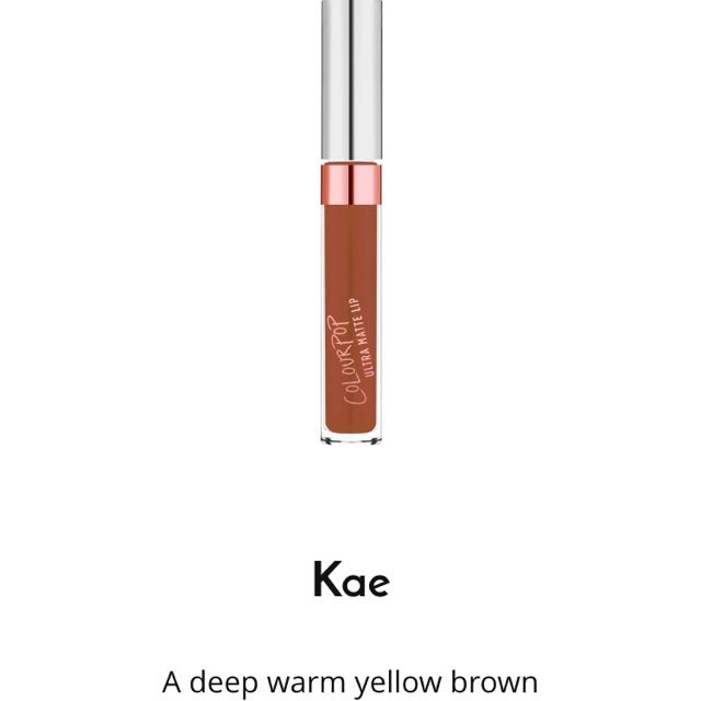 On Hold Kae By Colourpop Karrueche's Collection