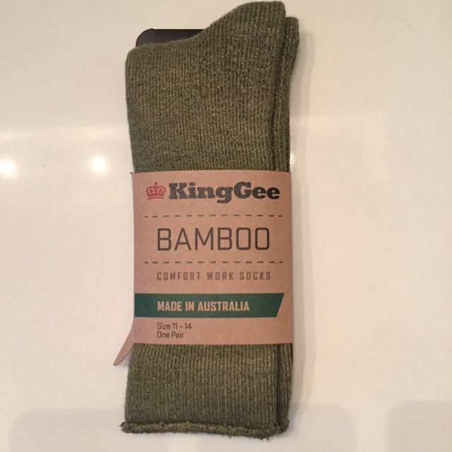 KingGee Bamboo Work Socks