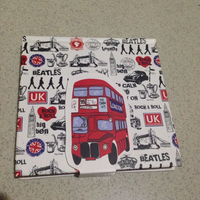 London Style Notebook (make a plan)