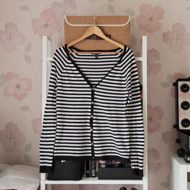 Mango Stripes Cardigan