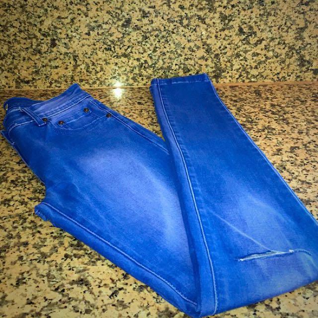 Medium Blue Jean (size 8)