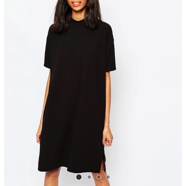 MONKI High Neck Shift Dress