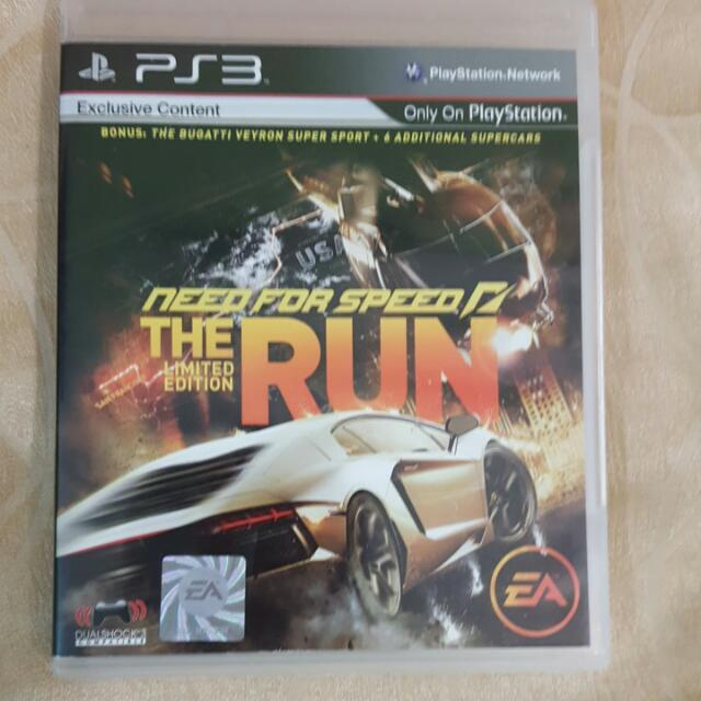 Need For Speed The Run For PS3