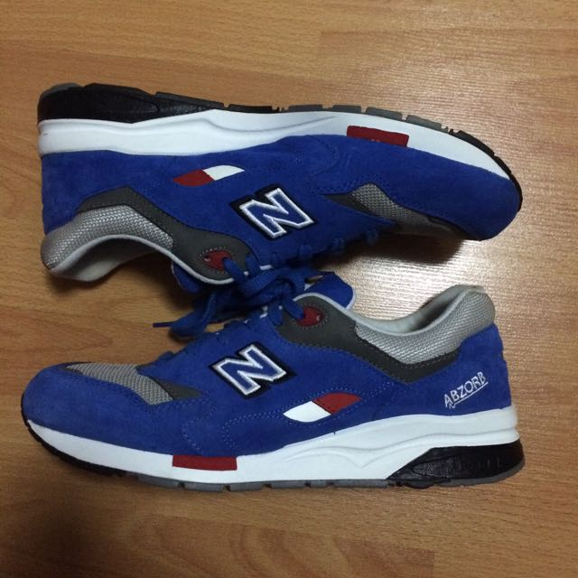 various colors aceb3 b2723 NEW BALANCE 1600 SZ US11 BLUE GREY WHITE BARBER SHOP PACK ...