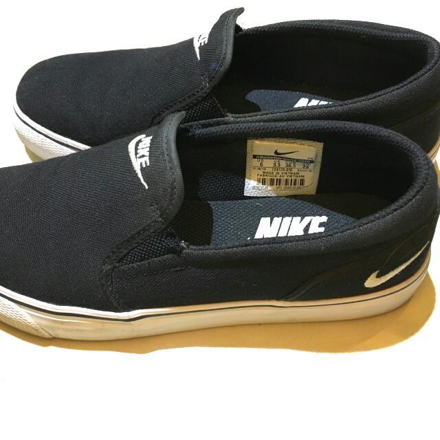 (二手)Nike懶人鞋 帆布 NIKETOKI SLIP TXT
