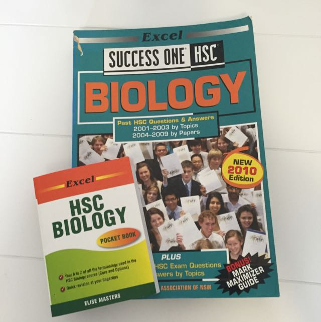 Past Papers Biology HSC And Pocket Excel Biology