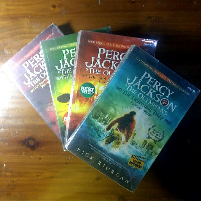 PERCY JACKSON The Olympians (Books 1-4)