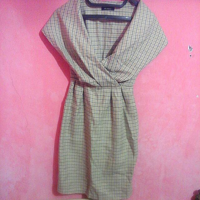 Flannel Mini Dress