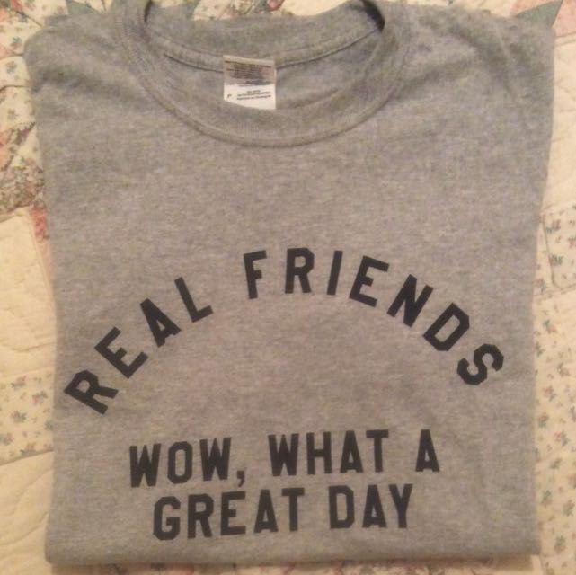 Real Friends Band T-shirt