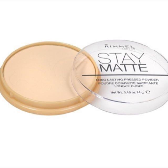 rimmel stay mate powder