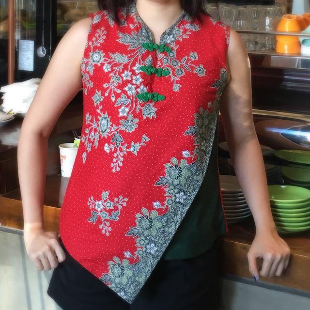 Shanghai Batik Look