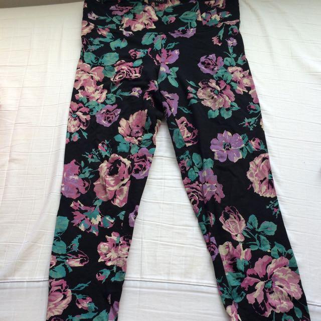 Talula Floral Leggings