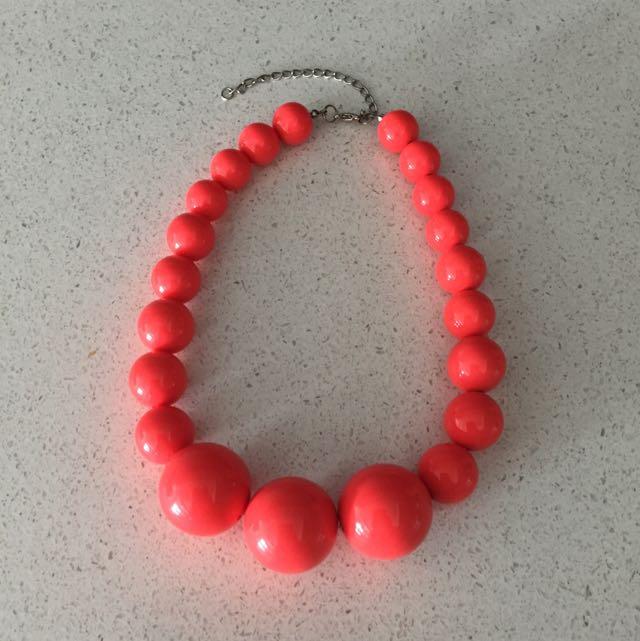 Topshop Pebbles Necklace
