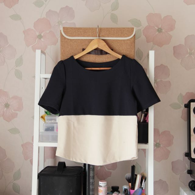 Two-Tone Top