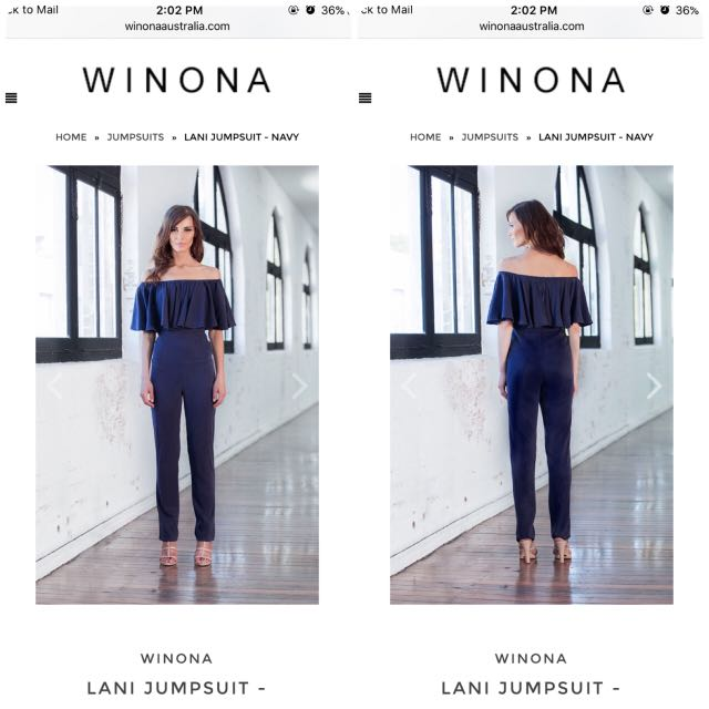Winona Australia Designer Lani jumpsuit