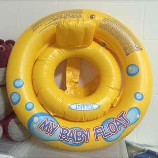 寶寶黃色坐圈