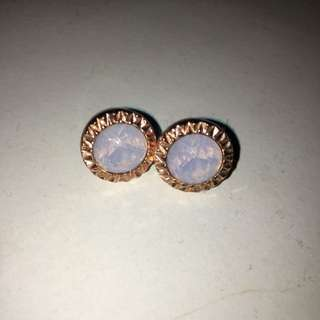 Mimco bezel Stud Earrings