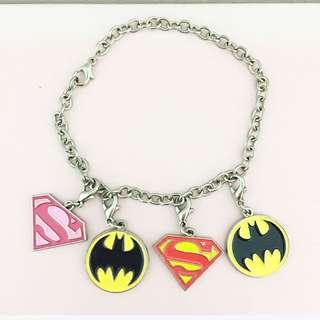 Superman & Batman Charm Set