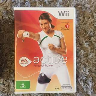 Active Personal Trainer Wii Disc + Arm Band