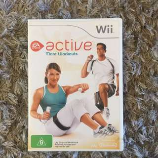 Wii Active More Workouts Game