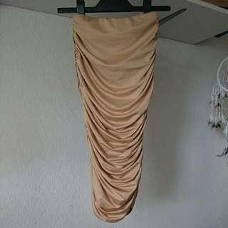 Zachary ruched Midi Skirt