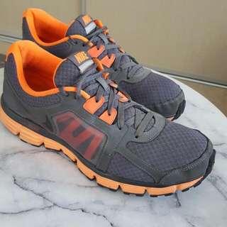 Nike Dual Fusion St2 Charcoal + Hot Orange Us Size 12