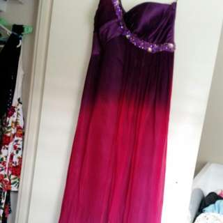 Ombre Formal Dress