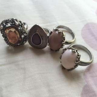 Vintage Design Rings