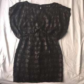 Seduce Black Dress Size 10