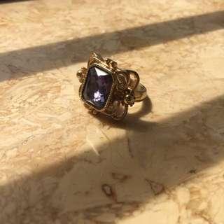 Vintage Design Cocktail Ring