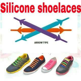 16pcs/set No Tie Silicone Shoelace