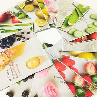 Innisfree It's Real Squeeze Sheet Masks