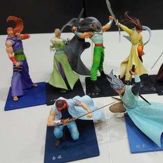 风云 6-inch Action Figure- Set Of 9