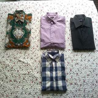 Dress Shirts And A Baju Batik