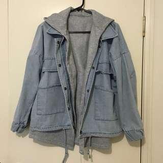 *Barely Worn* 2 Layer Light Denim Jacket