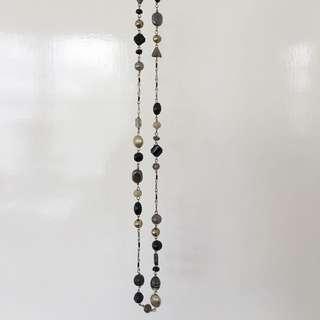 Dark Mixed Bead Necklace