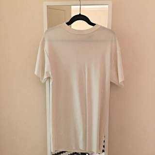 ON HOLD topshop ribbed t-shirt dress
