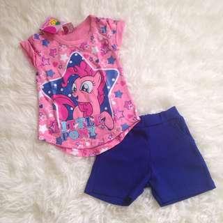 Baju Anak Setelan Little Pony