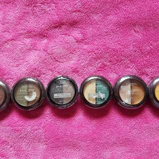 Hip Eyeshadow Variety Of Colors.