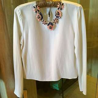 Zara Long Sleeve With Accesories