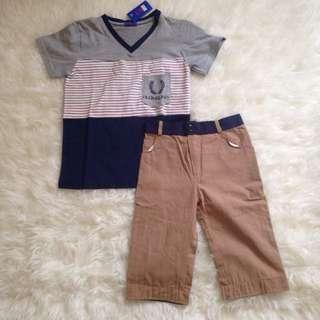 Baju Anak Setelan Laki-laki London Kids