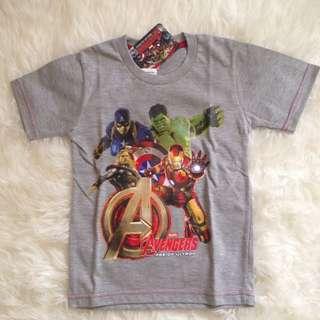 Baju Kaos Anak Marvel Avengers