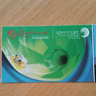 Adventure Cove Physical Tickets [Last 2]