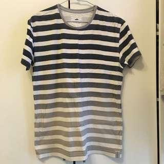 Ablib Tee 短袖T恤 短T 條紋 T-shirt 男生