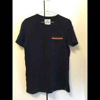 Ablib Tee 口袋 短袖T恤 短T 條紋 T-shirt 男生