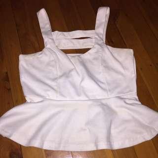White Dress Top!
