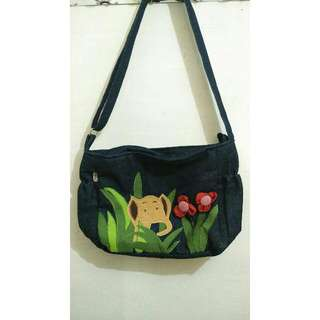 Elephant Bag + Free Blue Top